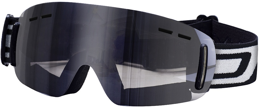 Dirty Dog Drift Snowboard / Ski Goggles, L, Frameless, Grey Flash