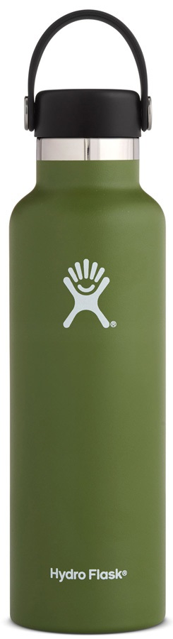 Hydro Flask 21oz Standard Mouth With Flex Cap Water Bottle - Olive
