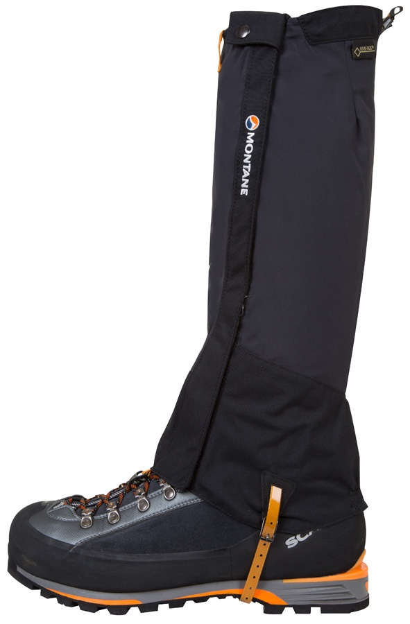 Montane Endurance Pro Boot Gaiter L Black Long
