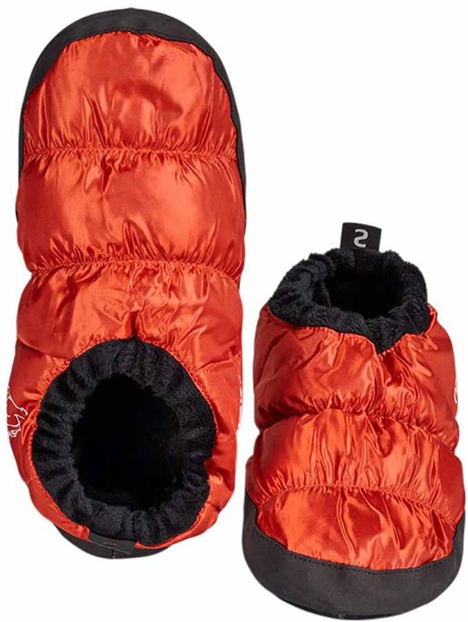 Nordisk Mos Down Shoes Insulated Camping Slippers, UK 9-12 Orange