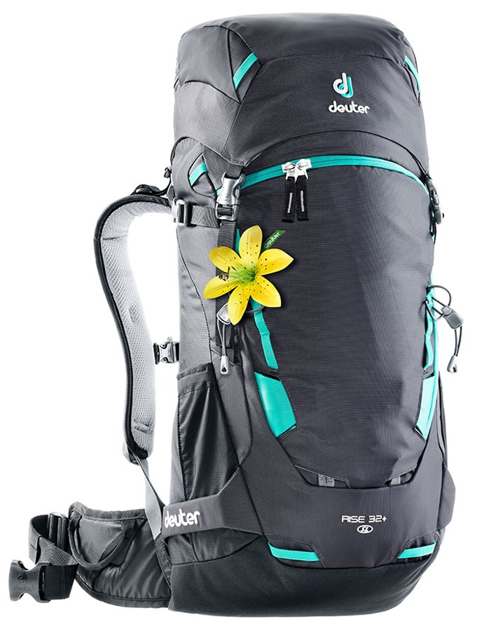 Deuter Rise 32+ SL Women's Hiking Backpack, 32L Graphite Black