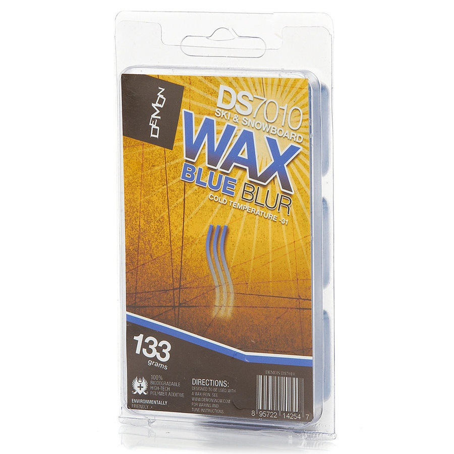 Demon Snowboard/Ski Wax, 133g, Blue, Cold