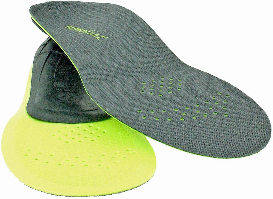 Superfeet Trim To Fit Replacement Boot / Shoe Insoles G Carbon