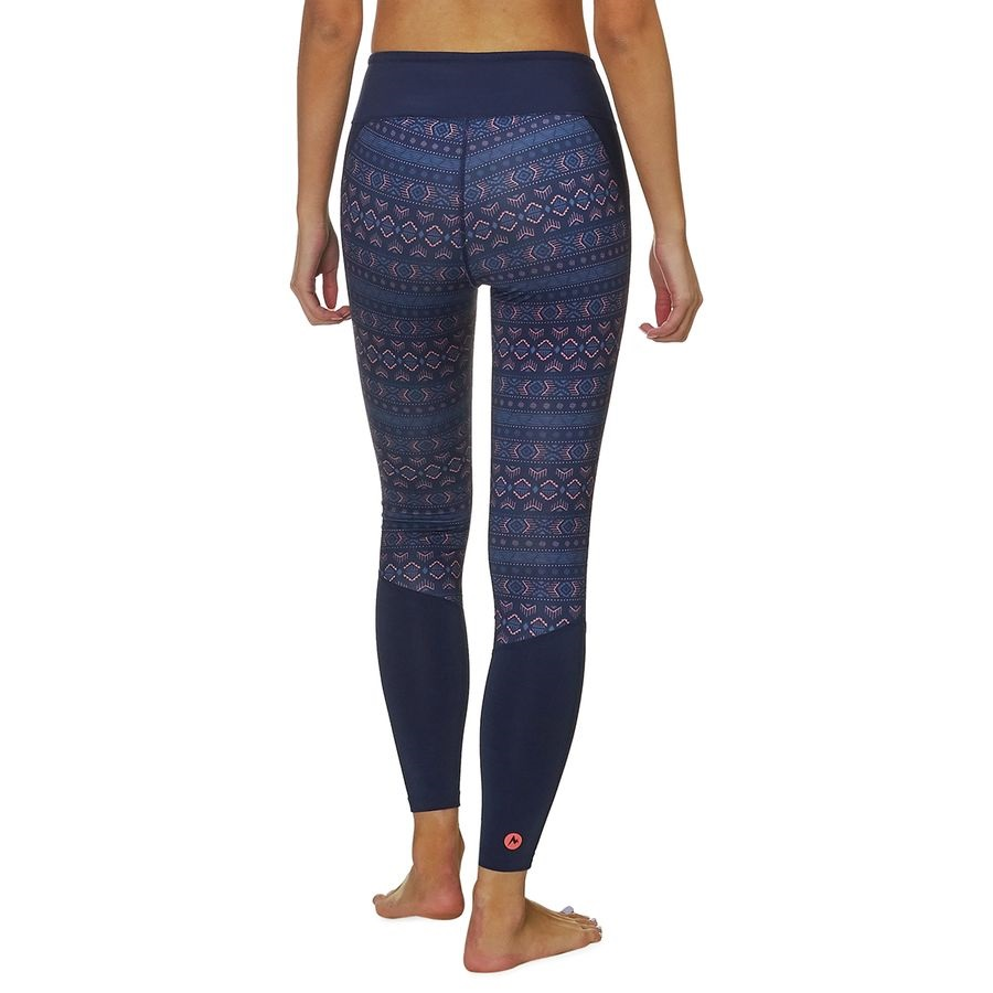 4625ed02e773 Marmot Womens Nicole Heavyweight Tight Baselayer Leggings, UK 12 Blue
