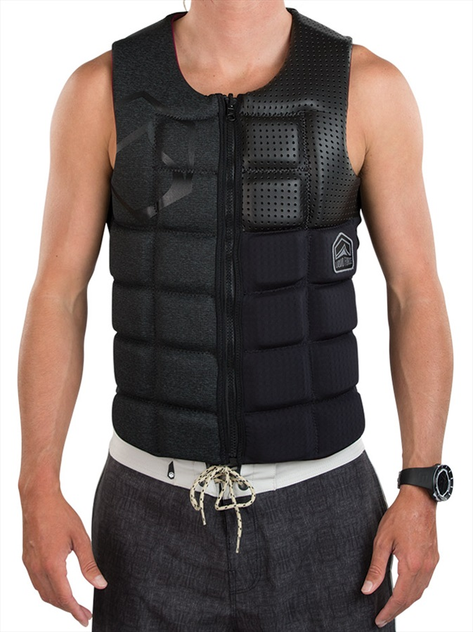 Liquid Force Flex Wakeboard Impact Vest, XL Blackout 2019