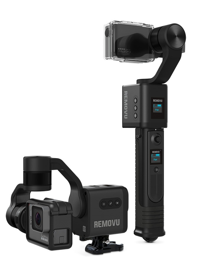 Removu S1 Hero 5/6 3-Axis Gimbal For GoPro Cameras