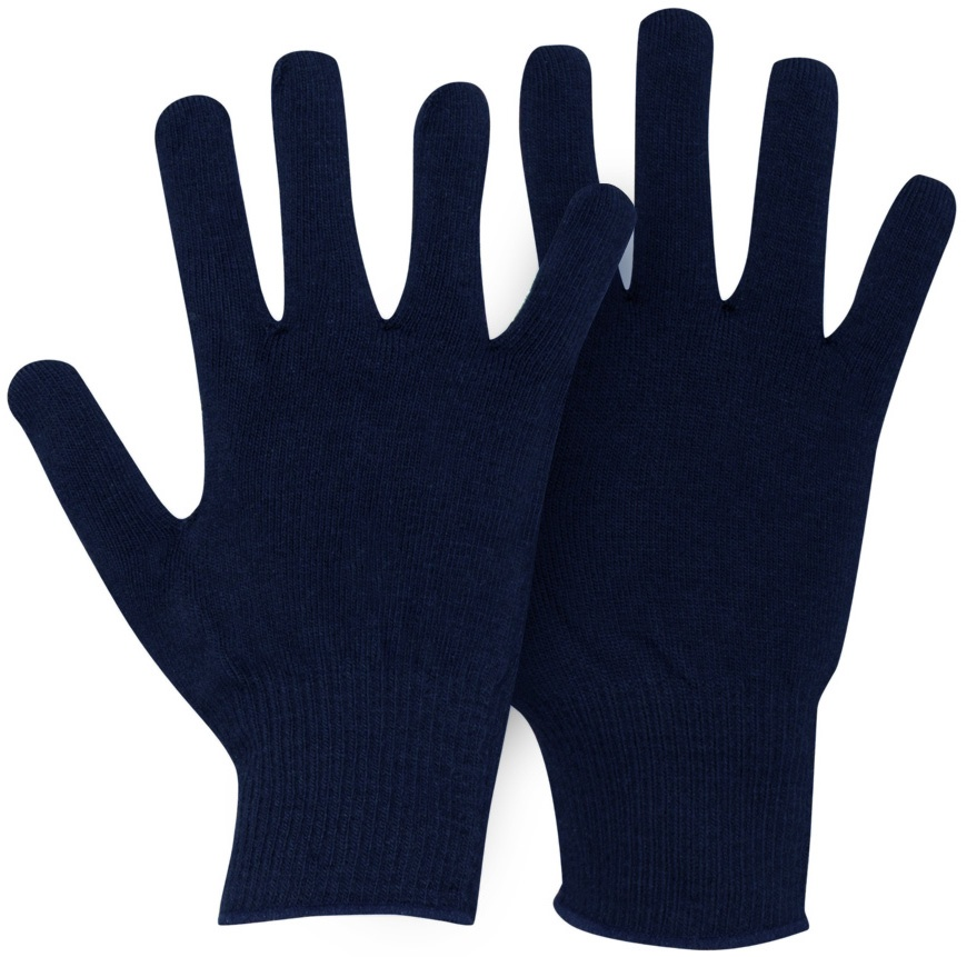 Horizon Verbier Thermolite Thermal Glove Liners Kids Navy