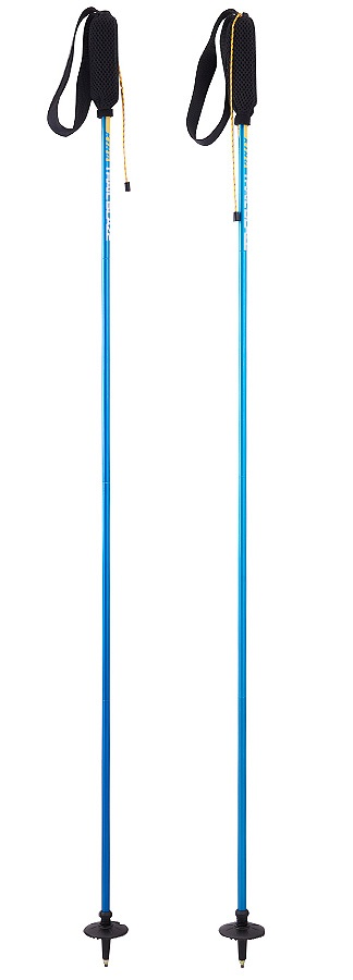 Mountain King Trail Blaze Lightweight Foldable Trail Poles, 120cm Blue
