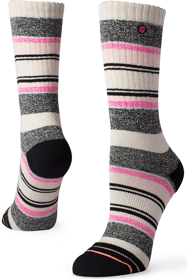 Stance Womens Payette Outdoor Walking/Hiking Socks, M Natural