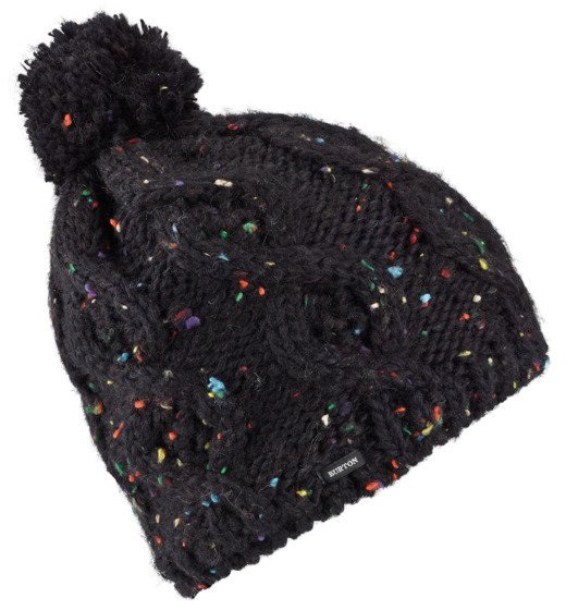 Burton Chloe Women's Bobble Hat, One Size True Black