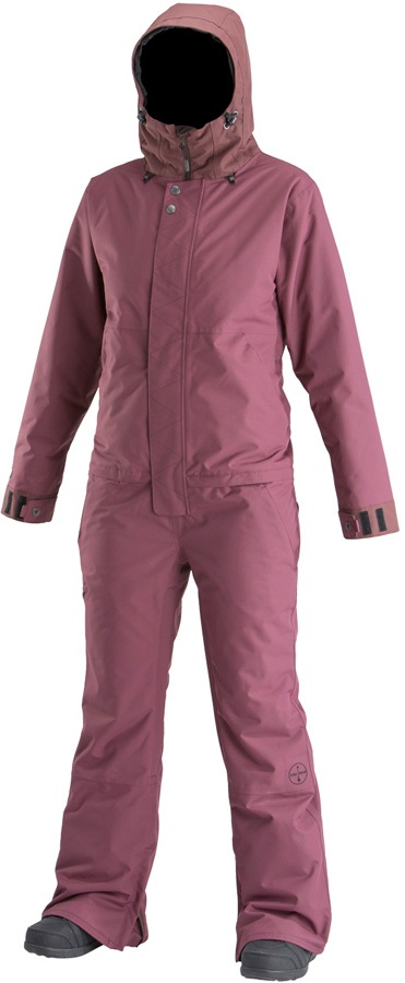 Airblaster Women's Insulated Freedom Snow Suit, M Huckleberry