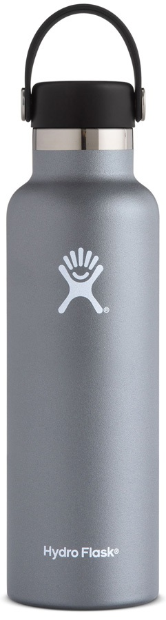 Hydro Flask 21oz Standard Mouth With Flex Cap Water Bottle - Graphite