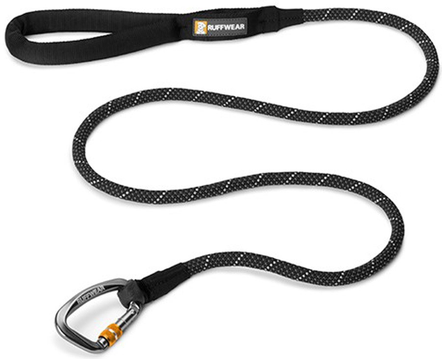Ruffwear Knot-a-Leash Dog Walking Lead, Large 1.5m X 10mm, Black