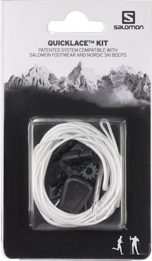 Salomon Quicklace Replacement Lace Kit, One Size, Natural