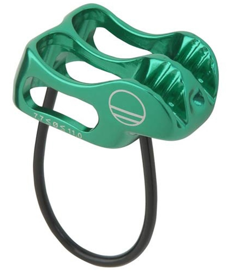 Wild Country Pro Lite Rock Climbing Belay Device, Green