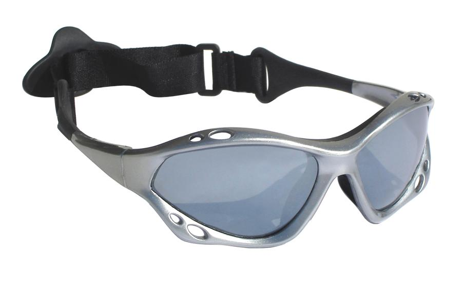 Jobe Floatable Watersports Sun Glasses, Silver Polarized 2018