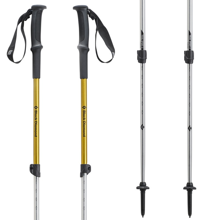 Black Diamond Trail Sport 3 Adjustable Trekking Poles 62-140cm
