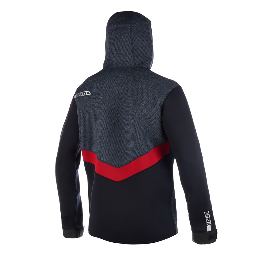Mystic Voltage Sweat Riding Jacket, S Navy Red