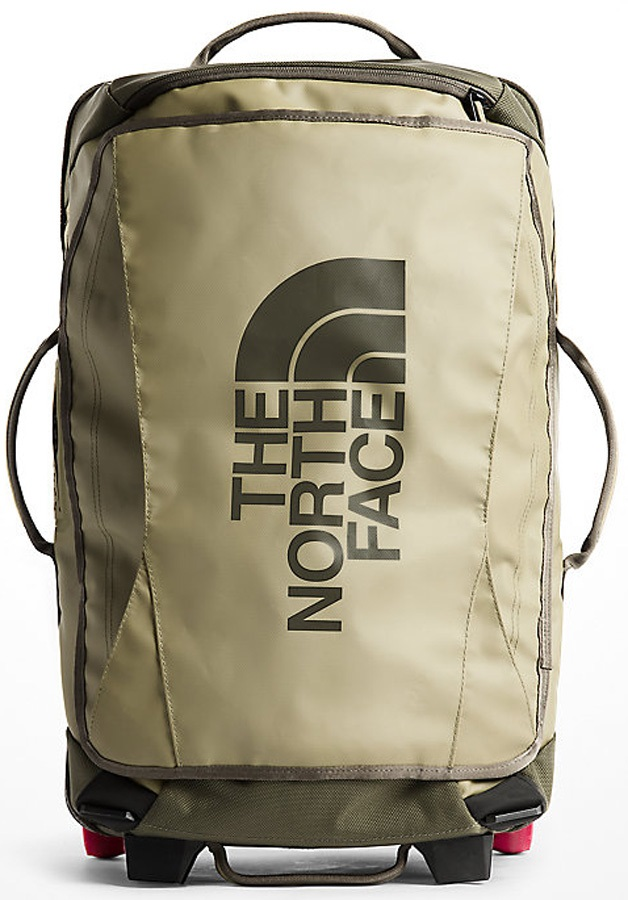 "The North Face Rolling Thunder Wheeled Luggage Bag, 22"" 40L Green"
