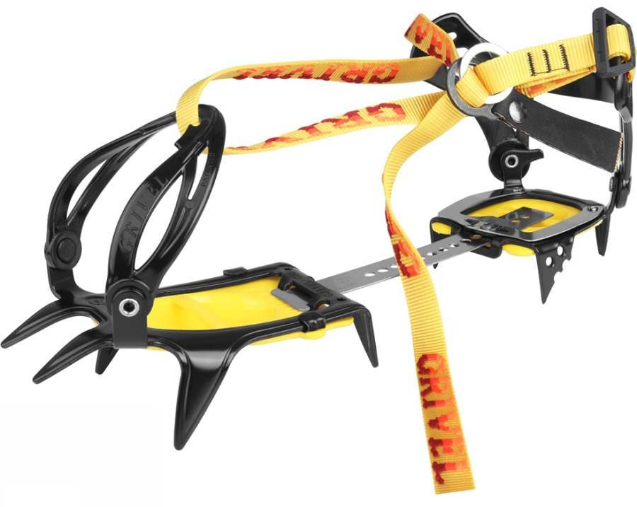 Grivel G10 New Classic Mountaineering Crampon UK 2-12 Yellow