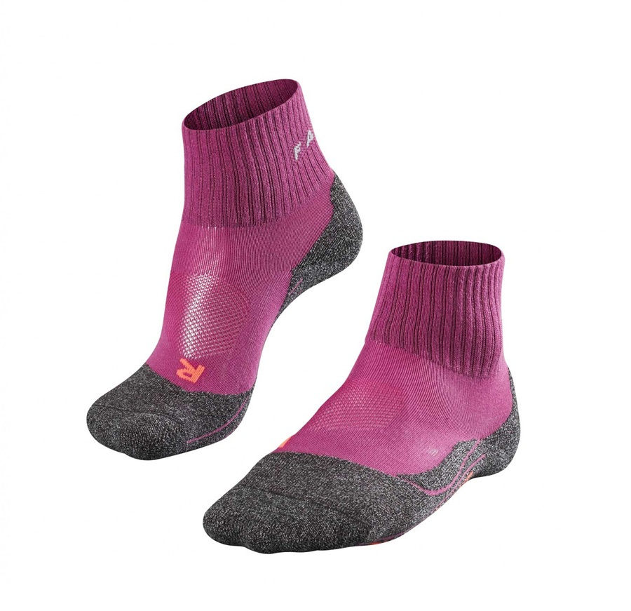 Falke TK2 Short Cool Women's Hiking/Walking Socks UK 5.5-6.5 Wildberry