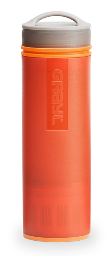 dccf186601 Grayl Ultralight Water Purifier & Travel Filter Bottle, 473ml Orange