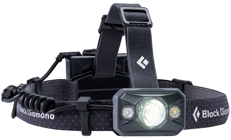 Black Diamond Icon 500 Lumen LED Headlamp, Adjustable, Black