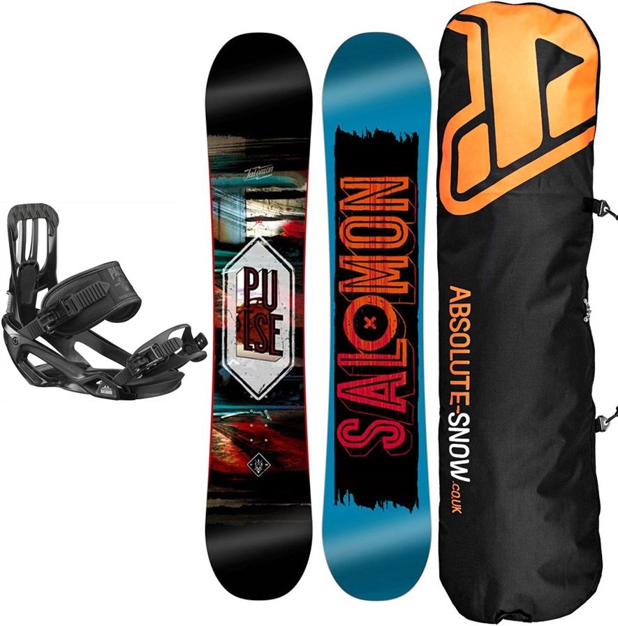 Salomon Pulse | Pact Snowboard Package, 145cm | Medium