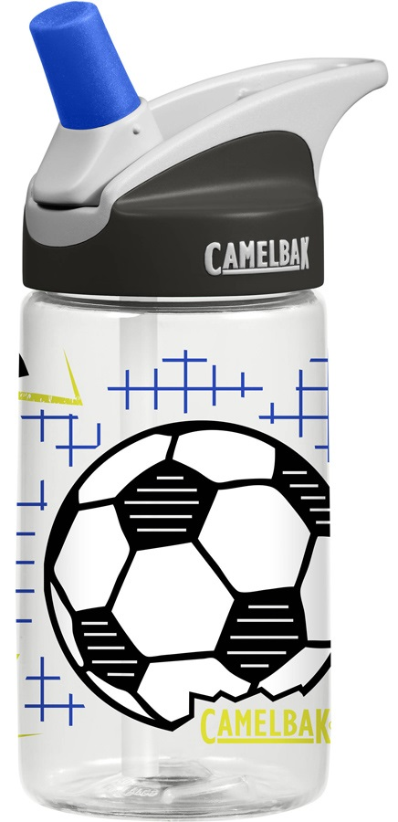 Camelbak Eddy Kids Spill-Proof Water Bottle, 400ml Goal!