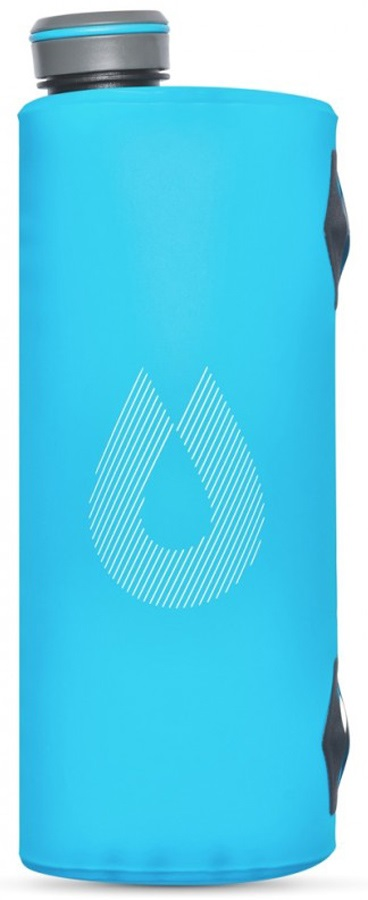 HydraPak Seeker Hydration Reservoir Collapsible Water Carrier 2L Blue