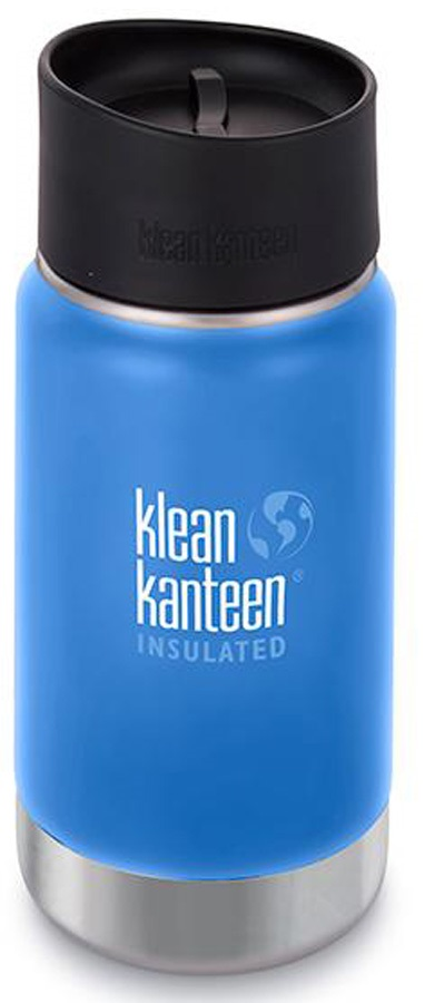 Klean Kanteen Vacuum Insulated Wide Water Bottle, 355ml Sea Crest