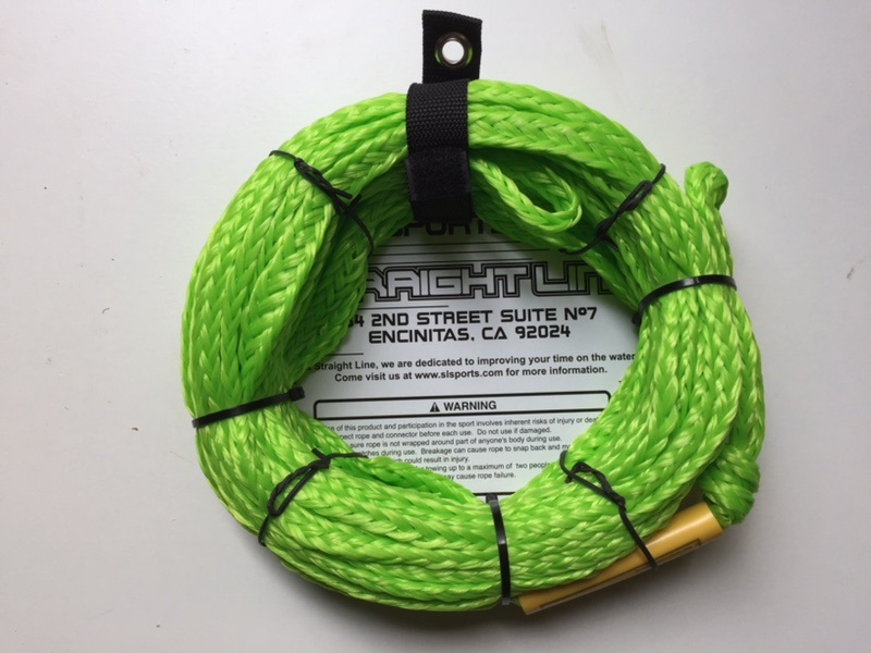 Straight Line Stock Towable Tube Rope 60' 2 Person Green