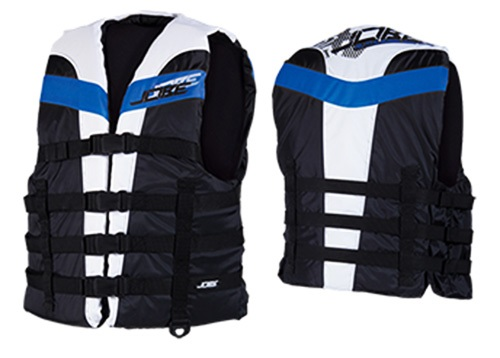 Jobe Ruthless Dual PWC Buoyancy Vest, S/M Black Blue