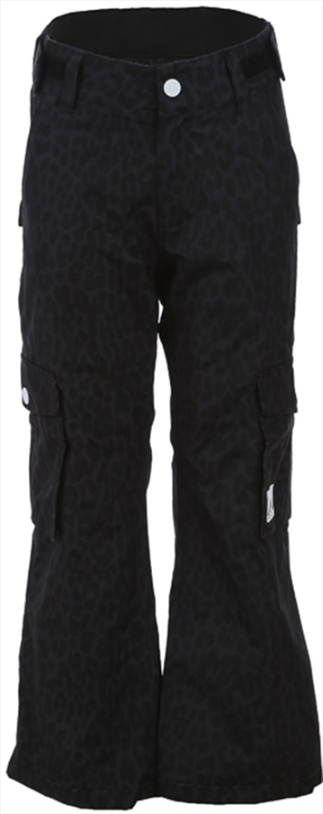Wearcolour (CLWR) Trooper Kid's Ski/Snowboard Pants, 120cm Black Leo