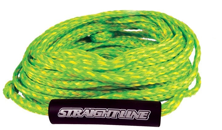 Straight Line Supreme Heavy Duty Tube Rope 2 Person 60' Green Yellow