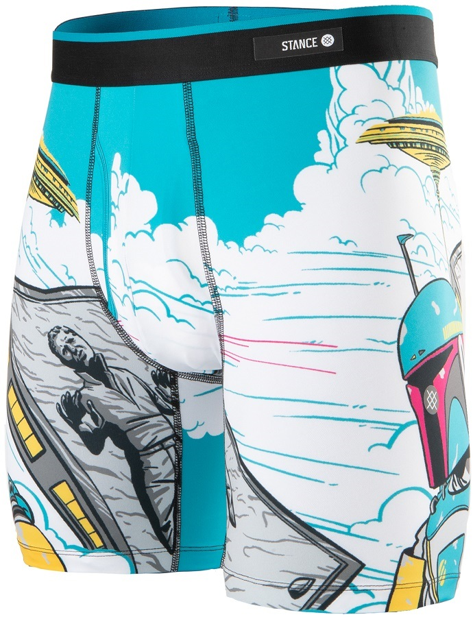 Stance Boxer Brief Poly Blend Boxer Shorts/Underwear, S Bespin Tower
