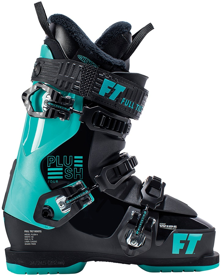 Full Tilt Plush 4 Women's Ski Boots, 25/25.5 2019