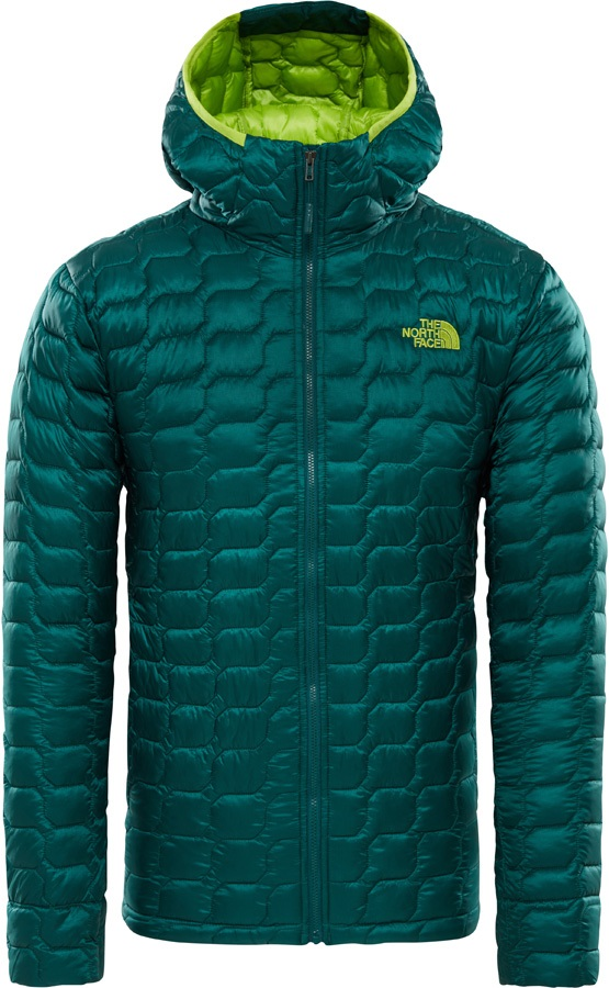 cd8411d50 The North Face Thermoball Hoodie Men's Insulated Jacket, S Green