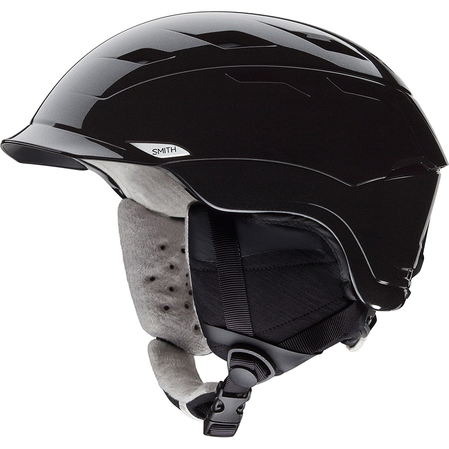 Smith Valence Women's Snowboard/Ski Helmet S Black Pearl