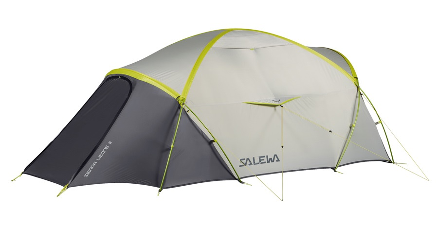 Salewa Sierra Leone 3 Lightweight Backpacking Shelter, 3 Person Grey