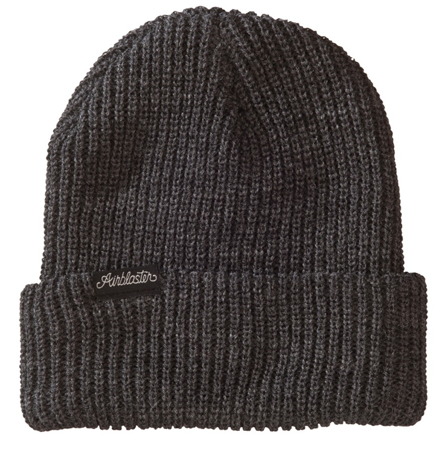 Airblaster Commodity Beanie, One Size Charcoal Heather