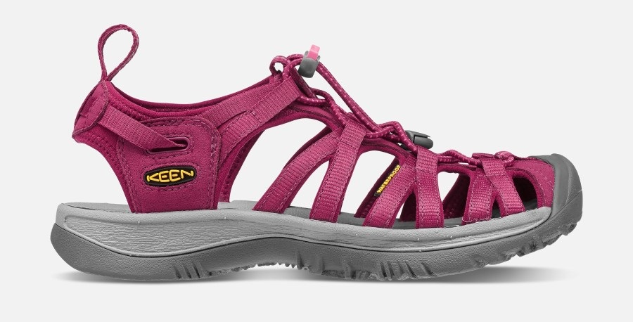 Keen Womens Whisper Women's Walking Sandals, UK 7 Beet Red/Honeysuckle