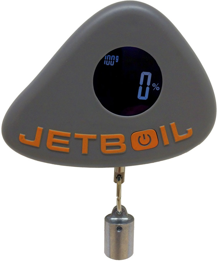 Jetboil Jet Gauge Digital Fuel Canister Scale, Grey