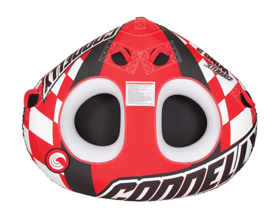 Connelly Wing 2 Towable Inflatable Tube, 2 Rider Red 2019
