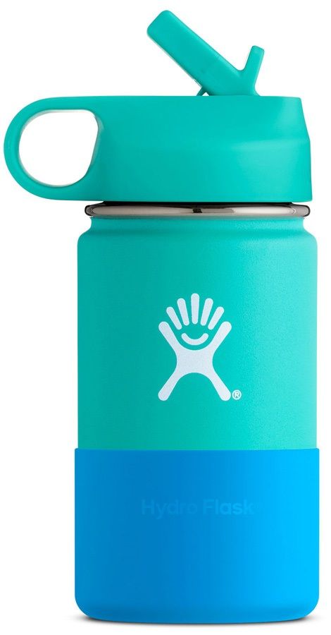 Hydro Flask Kid's 12oz Wide Mouth With Straw Lid Bottle - Mint