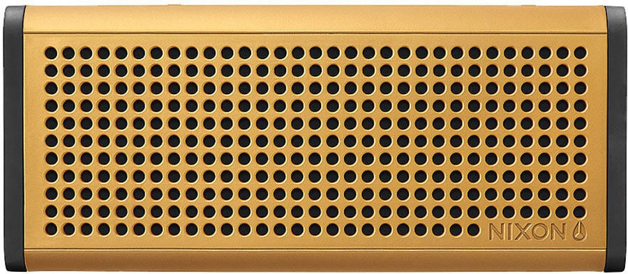 Nixon Blaster Pro Portable Bluetooth Speaker Gold/Black