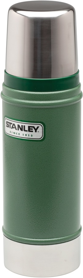 Stanley Classic Vacuum Bottle Stainless Steel Thermos, 473 Ml, Green
