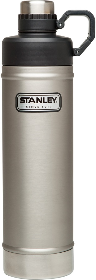 Stanley Classic Vacuum Water Bottle Insulated Water Bottle, Silver