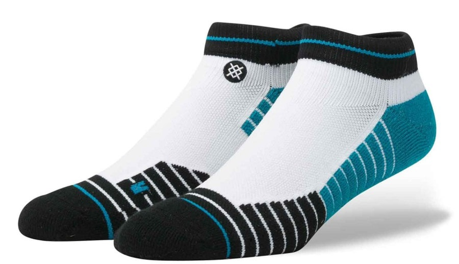 Stance Tidal Low Fusion Athletic Socks, L White