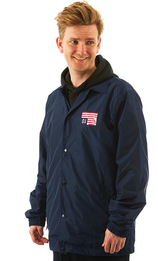 Analog Sparkwave Coaches Ski/Snowboard Jacket, L Mood Indigo
